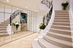 ameliemorinbernat.com retail bijouterie miroir biseau escalier marbre ferronnerie
