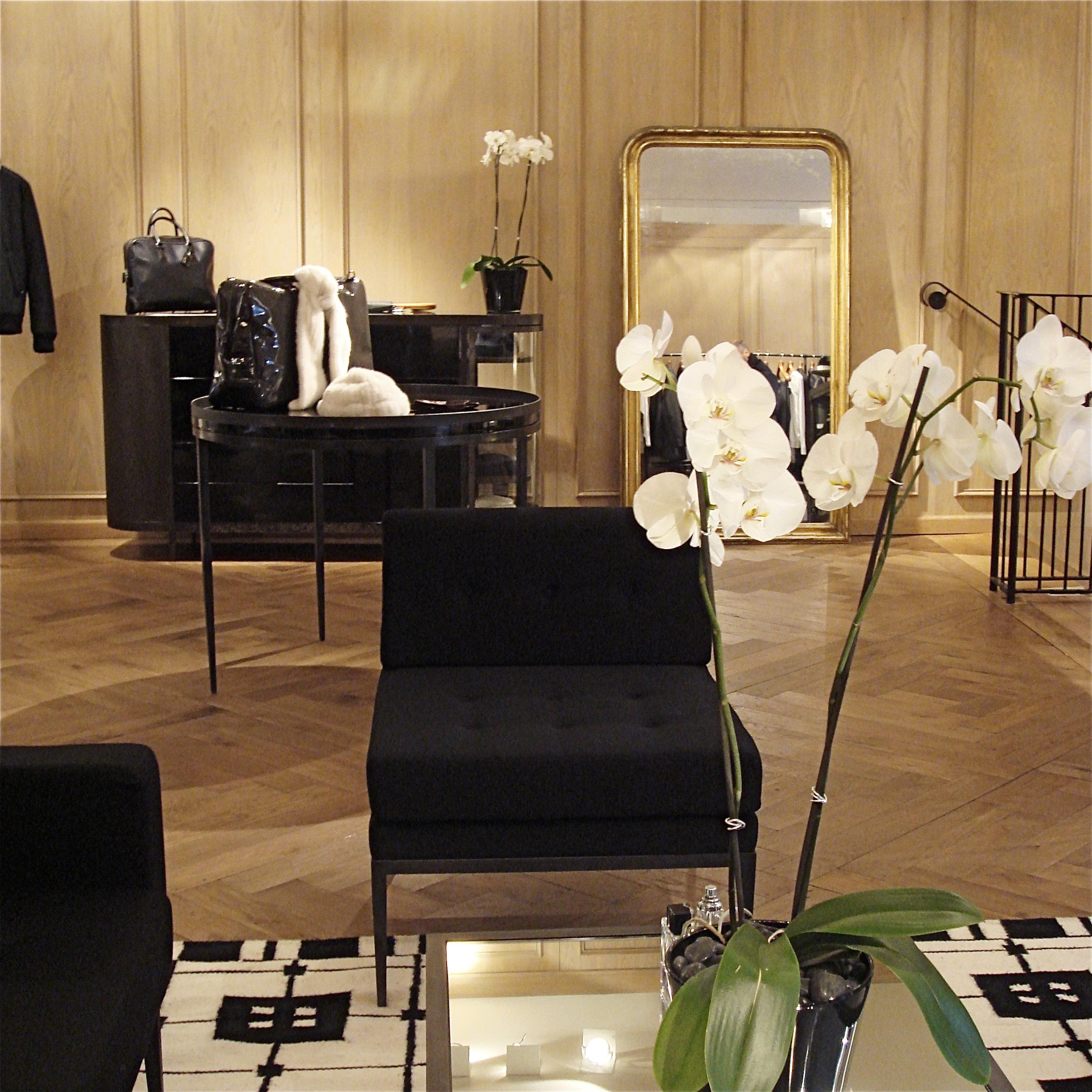 ameliemorinbernat.com Lanvin Paris Salon moulure miroir